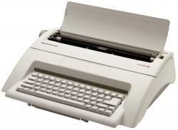 Typenrad-Schreibmaschine Carrera de Luxe