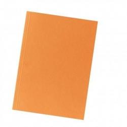 Aktendeckel A4 orange, Manilakarton 250 g/qm