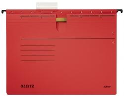 1984 Hängehefter ALPHA® - kfm. Heftung, Recyclingkarton, rot