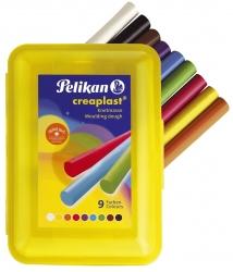 Kinderknete Creaplast gelb300g