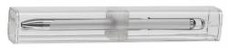 Kugelschreiber Vio® K9 - M, silber, Päsentbox
