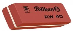 Radierer RW40 - 58 x 20 x 8 mm, rot