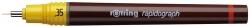 Tuschefüller Rapidograph, 0,35 mm, schwarz