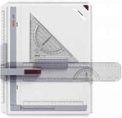 Zeichenplatte Rapid, A4, schlagfester Kunststoff, hellgrau
