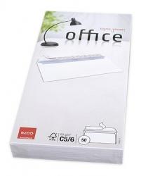 Briefumschlag Office - C5/6 DL, hochweiß, haftklebung, Idr, 80g, 50 Stück