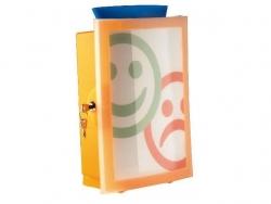Combi-Box IMAGE´IN - orange-transluzent