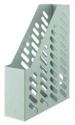 Stehsammler KARMA - DIN A4/C4, 100% Recyclingmaterial, öko-grau