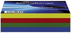 100er-Pack CD-Papiertaschen Colorpack (25xrot, 25xgrün, 25xblau,25xGelb) mit Lasche und Sichtfenster