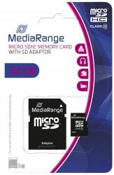 Micro SDHC Speicherkarte 32GB Klasse 10 mit SD-Karten Adapter