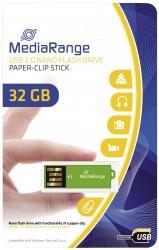 USB Nano-Speicherstick CLIP-ON - grün, 32GB