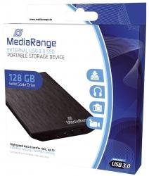 externes USB 3.0 Solid State Laufwerk, 128GB, schwarz