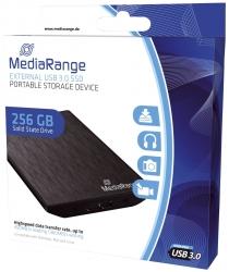 externes USB 3.0 Solid State Laufwerk, 256GB, schwarz