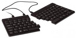 Ergonomische Split Tastatur - schwarz