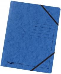 Eckspanner A4 Colorspan - intensiv blau, Karton 355 g/qm