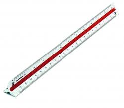 Präzisions-Dreikant-Maßstäbe 160/30, ingenieur DIN
