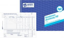 740 Reisekostenabrechnung, DIN A5, für wöchentliche Abrechnung, 50 Blatt, weiß