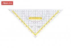 Zeichendreieck TZ-Dreieck®, Plexiglas® mit Griff, 250 mm, glasklar