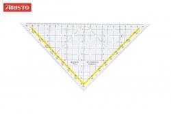 Zeichendreieck TZ-Dreieck®, Plexiglas® ohne Griff, 225 mm, glasklar