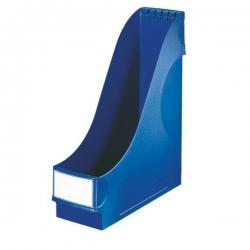 2425 Stehsammler - extrabreit, A4, Kunststoff, blau