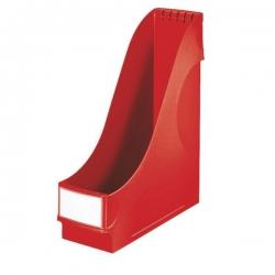 2425 Stehsammler - extrabreit, A4, Kunststoff, rot