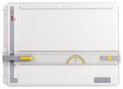 Zeichenplatte GEO-Board A3, schlagfester Kunststoff, weiß, A3