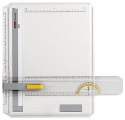 Zeichenplatte GEO-Board A4, schlagfester Kunststoff, weiß, A4