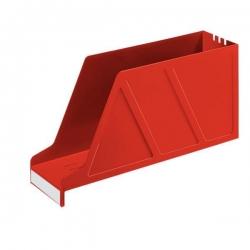 2427 Stehsammler Standard - A4 quer, Polystyrol, rot