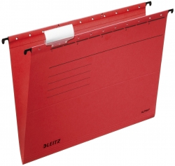 1985 Hängemappe ALPHA® - Recyclingkarton, rot