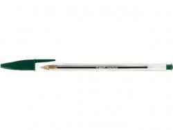 Kugelschreiber Cristal® Medium, 0,4 mm, grün