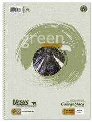 Collegeblock - A4, 80 Blatt, 60g/qm, 9 mm, liniert