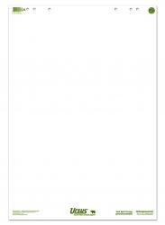 Flip Chart 68x99cm 20 Blatt 80g/qm blanko