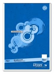 Briefblock - A5, 50 Blatt, 70 g/qm, blanko