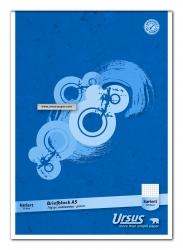 Briefblock - A5, 50 Blatt, 70 g/qm, 5 mm kariert