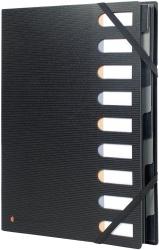 Exactive® Ordnungsmappe - 9 Fächer, schwarz