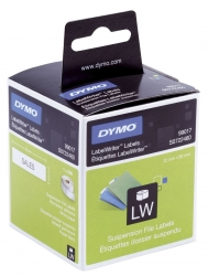 LabelWriter™ Etikettenrollen - Hängeablageetikett, 12 x 50 mm, weiß