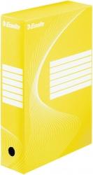 Archiv-Schachtel - DIN A4, Rückenbreite 8 cm, gelb