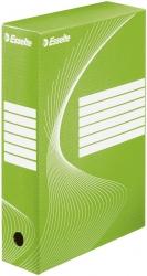 Archiv-Schachtel - DIN A4, Rückenbreite 8 cm, grün