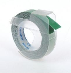 Prägeband 3D, Kunststoff, selbstklebend, 3 m x 9 mm, glänzend grün