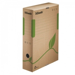 Archiv Box ECO, 80 mm, Karton, naturbraun