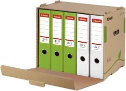 Archiv Container ECO, für Ordner, Karton, naturbraun