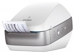 Etikettendrucker Wireless weiß/silber