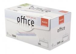 Briefumschlag Office in Shop Box - C5/6 DL, hochweiß, haftklebend, ohne Fenster, 80 g/qm, 200 Stück
