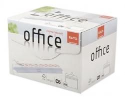 Briefumschlag Office in Shop Box - C6, hochweiß, haftklebend, ohne Fenster, 80 g/qm, 200 Stück
