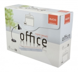 Briefumschlag Office in Shop Box - C5, hochweiß, haftklebend, ohne Fenster, 100 g/qm, 100 Stück
