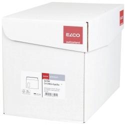 Briefumschlag Office Box mit Deckel - C4, weiß, haftklebend, mit Fenster, 120 g/qm, 250 Stück