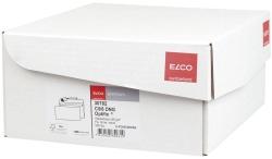 Briefumschlag premium, C5/6, 229x114mm, hochweiß, haftklebend, Innendruck, 80g
