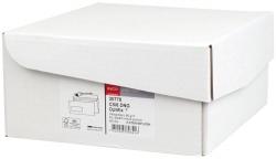 Briefumschlag premium, C5/6, 229x114 mm, hochweiß, haftklebend, Innendruck, mit Fenster, 80g