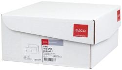 Briefumschlag Office Box mit Deckel - C5/6 DL, weiß, nassklebend, mit Fenster, 80 g/qm, 500 Stück