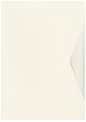 Offertmappe Prestige - A4, Karton 270 g/qm, elfenbein, 10 Stück