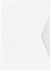 Offertmappe Prestige - A4, Karton 270 g/qm, weiß, 2 Stück